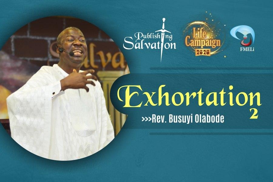 15. Exhortation - Rev. Busuyi Olabode