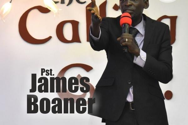 Pastor James Boaner