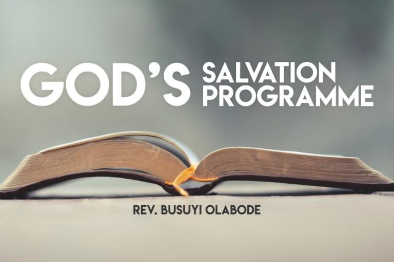 God's salvation programme