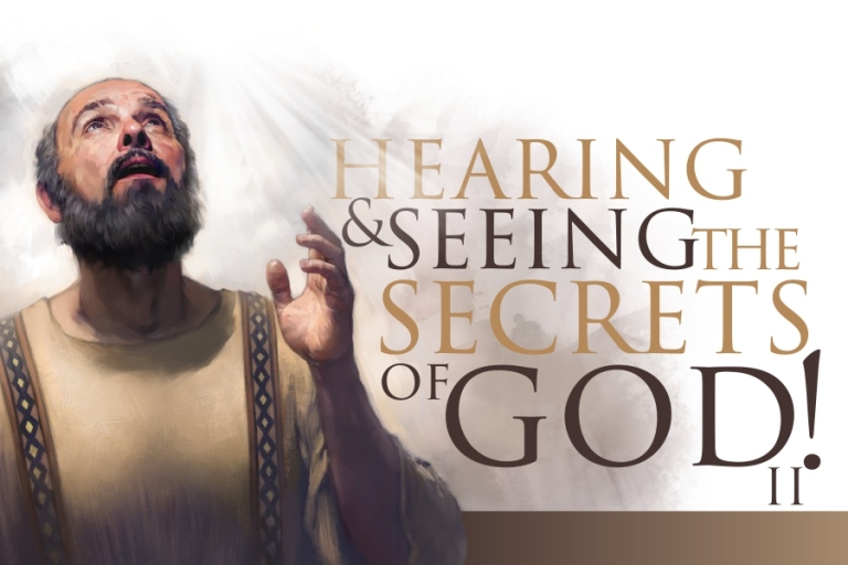 HEARING AND SEEING THE SECRETS OF GOD 2